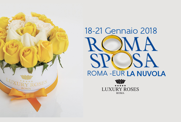 RomaSposa 2018  Luxury Roses Roma al Salone Nazionale dell Abito da Sposa 8581d642064